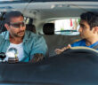 "Dave Bautista and Kumail Nanjiani in ""Stuber"""