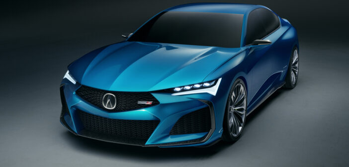 Acura Debuts Type S Concept in Monteray