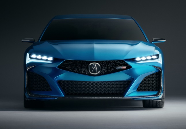Acura Type S Concept front view