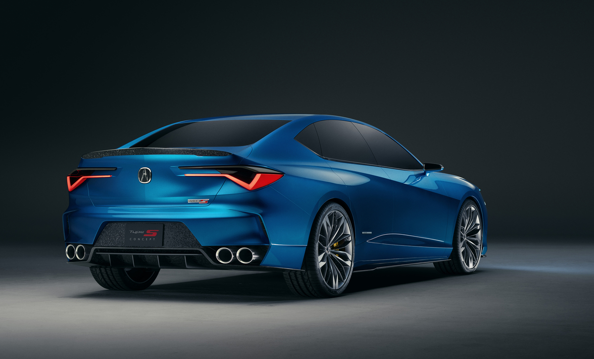 Acura Type S Concept rear view