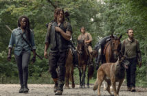 "Danai Gurira and Norman Reedus in ""The Walking Dead"""