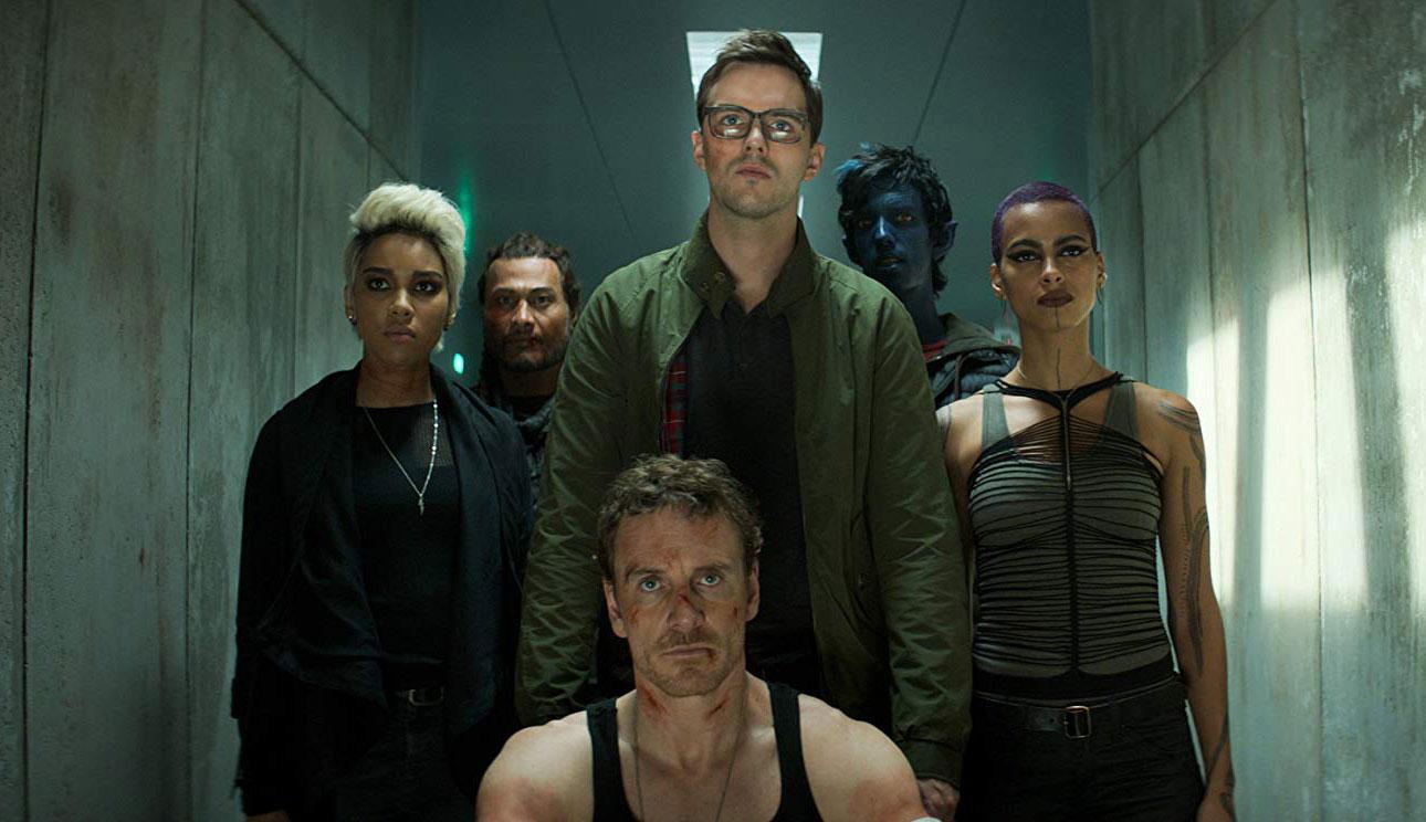 "Michael Fassbender and Nicholas Hoult in ""X-Men: Dark Phoenix"""