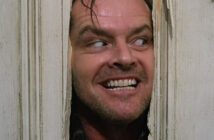 "Jack Nicholson in ""The Shining"""
