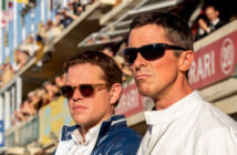 "Matt Damon and Christian Bale in ""Ford v Ferrari"""