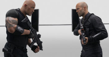"Dwayne Johnson and Jason Statham in ""Hobbs & Shaw"""