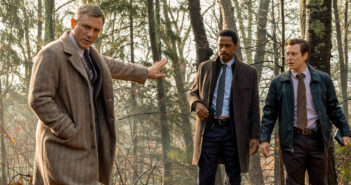 "Daniel Craig and Lakeith Stanfield in ""Knives Out"""