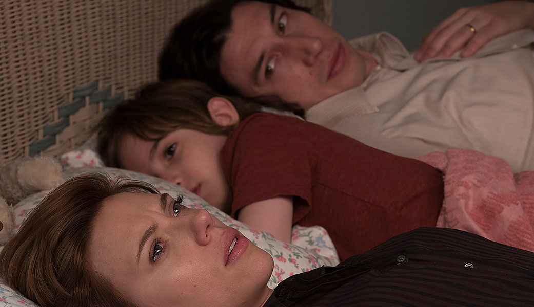"""Scarlett Johansson and Adam Driver in """"Marriage Story"""""""