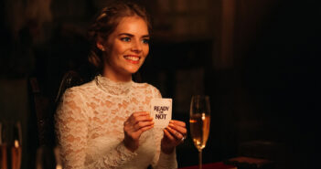 "Samara Weaving in ""Ready or Not"""