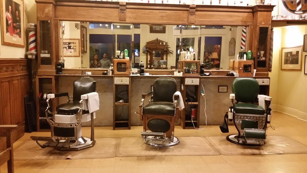 barbershop chairs