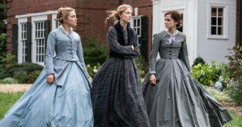 "Saoirse Ronan, Emma Watson and Florence Pugh in ""Little Women"""