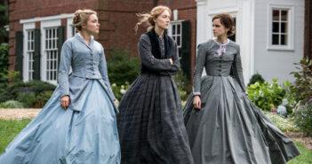 "Saoirse Ronan, Emma Watson and Florence Pugh in ""Little Women"""