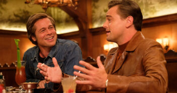 "Brad Pitt and Leonardo DiCaprio in ""Once Upon a Time... in Hollywood"""