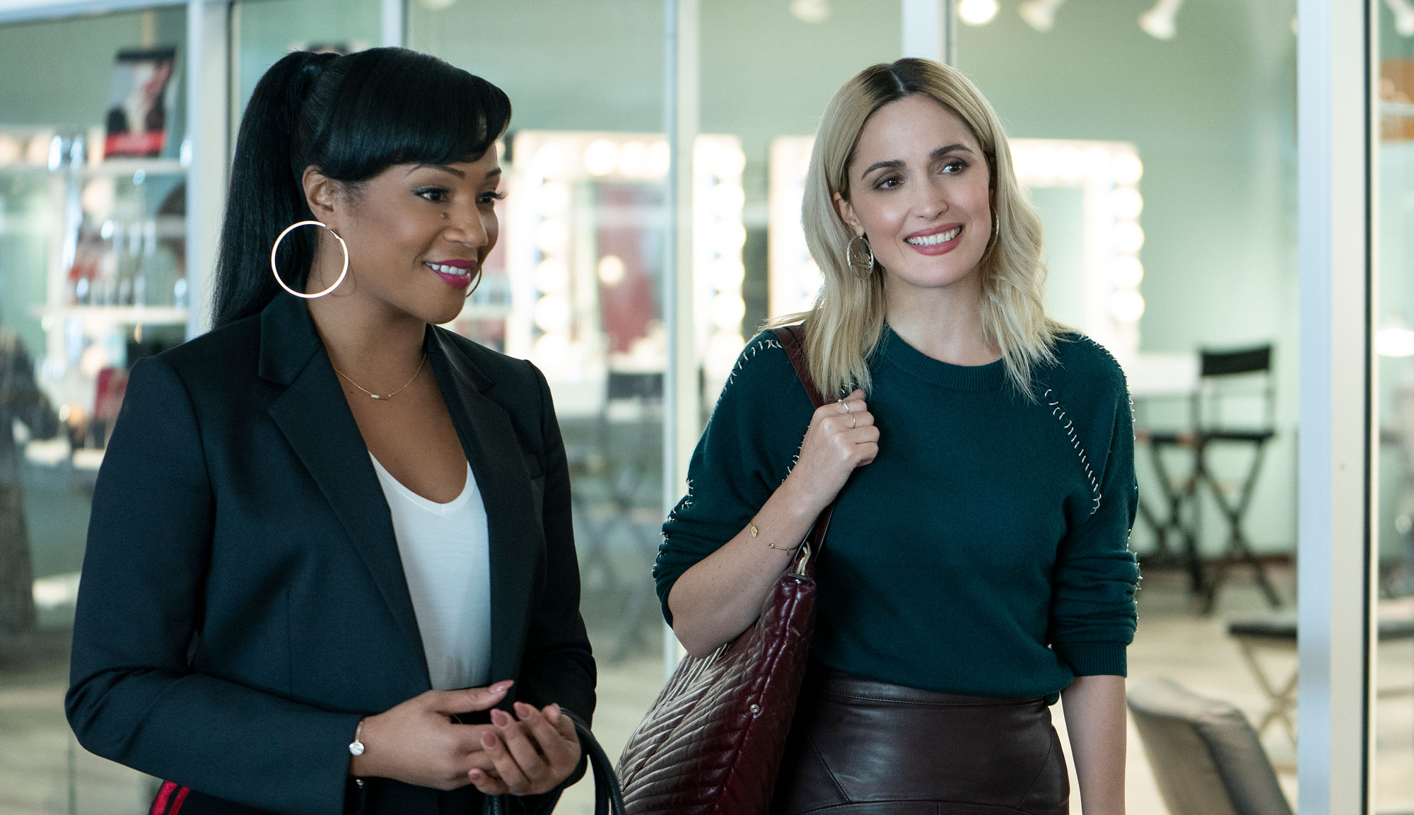 """Rose Byrne and Tiffany Haddish in """"Like a Boss"""""""