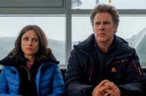 "Will Ferrell and Julia Louis-Dreyfus in ""Downhill"""