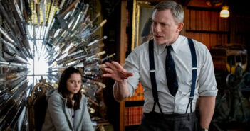 "Daniel Craig and Ana de Armas in ""Knives Out"""