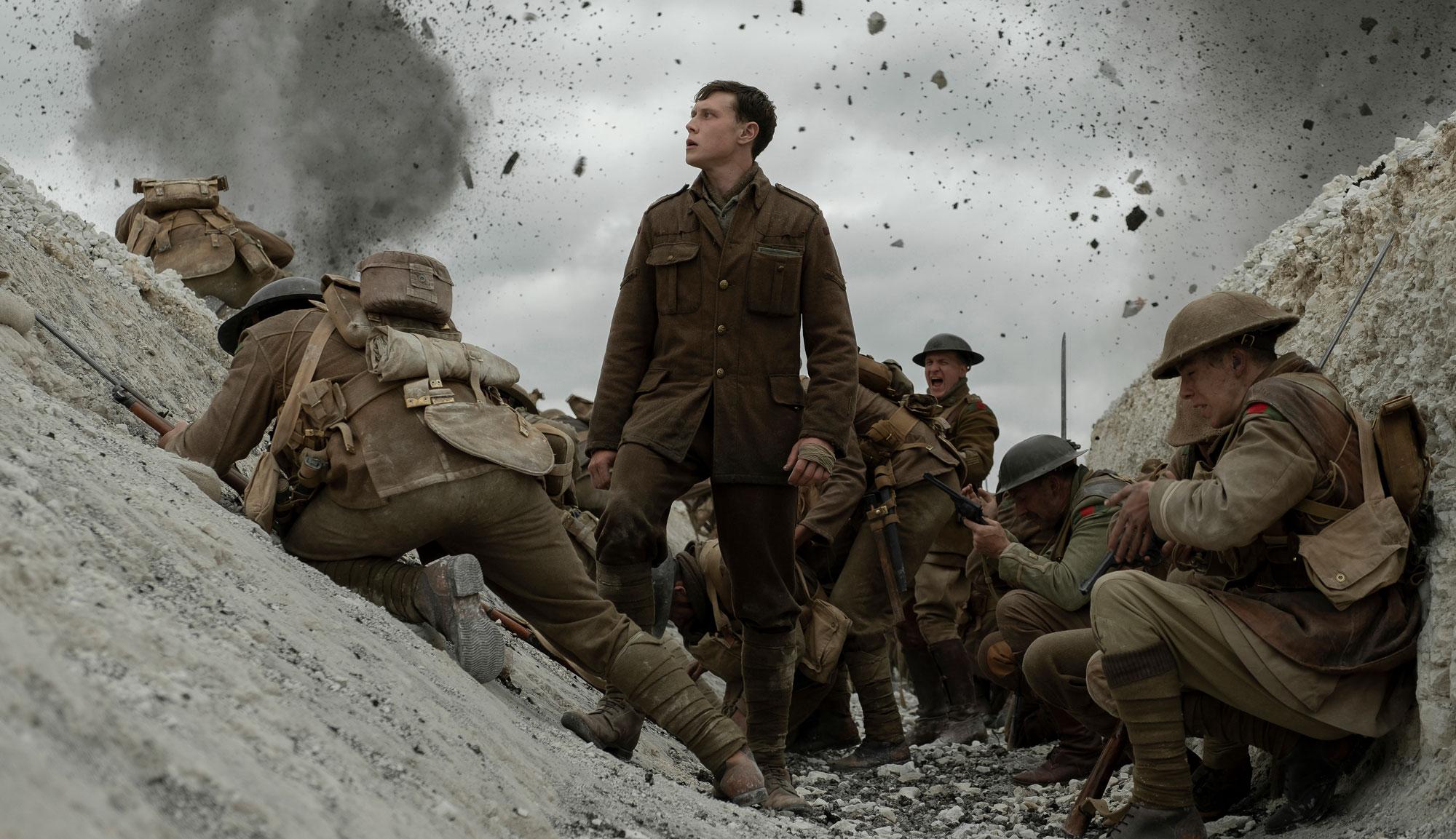 """George MacKay in """"1917"""""""