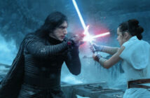 "Adam Driver and Daisy Ridley in ""Star Wars: The Rise of Skywalker"""