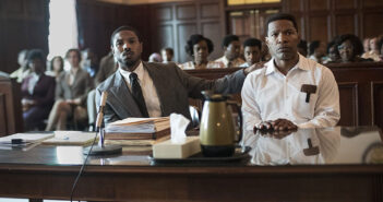 "Michael B. Jordan and Jamie Foxx in ""Just Mercy"""