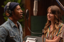 "Dakota Johnson and Kelvin Harrison Jr. in ""The High Note"""