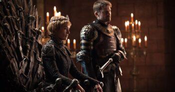 "Lena Headey and Nikolaj Coster Waldau in ""Game of Thrones"""