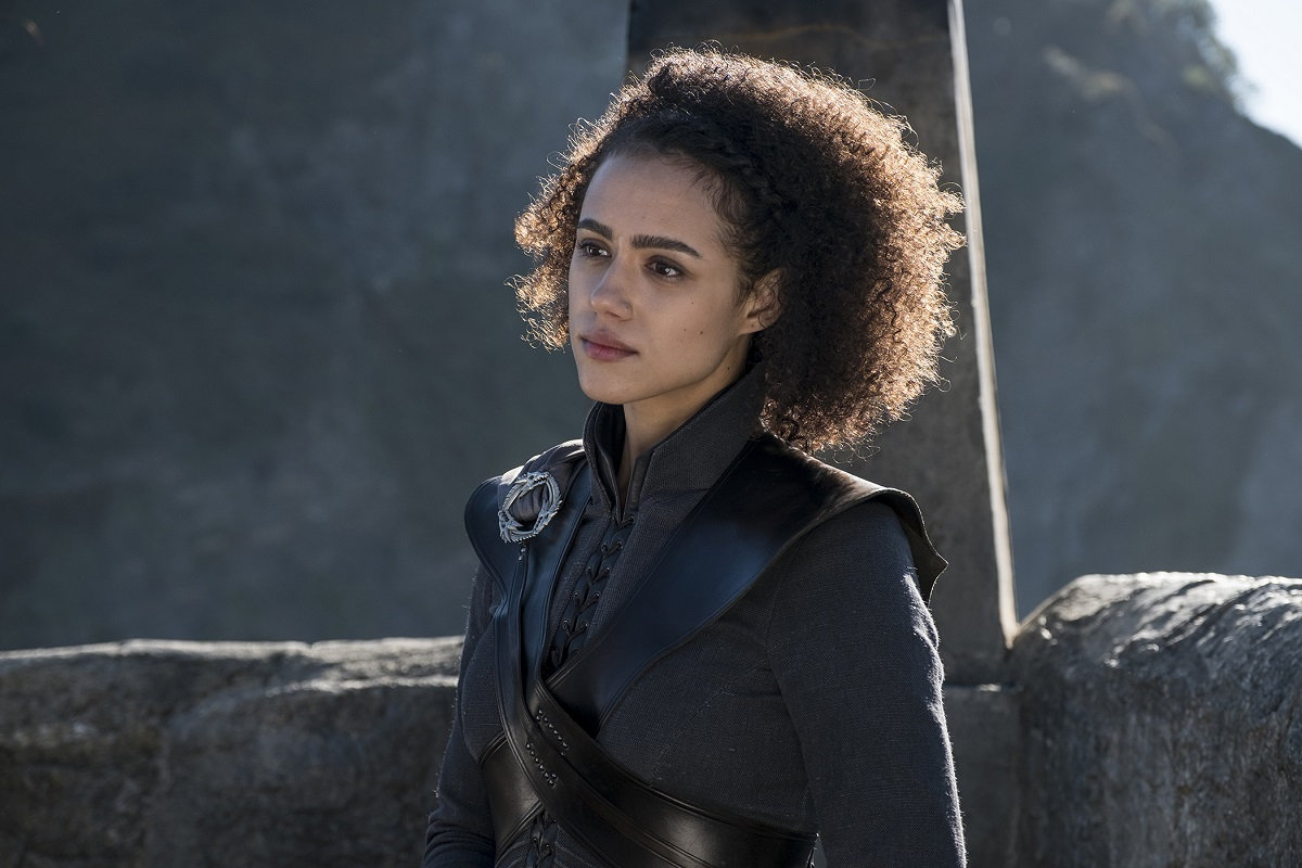 "Nathalie Emmanuel in ""Game of Thrones"""