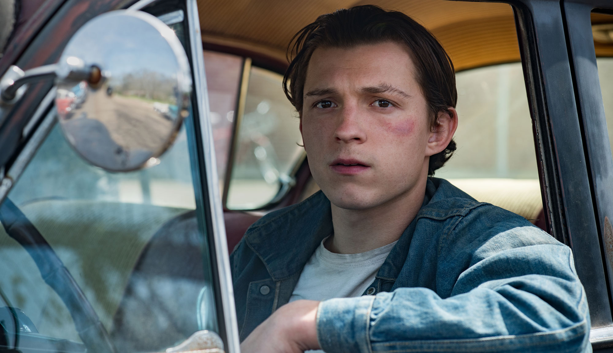 """Tom Holland in """"The Devil All the Time"""""""
