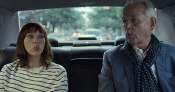 "Rashida Jones and Bill Murray in ""On the Rocks"""
