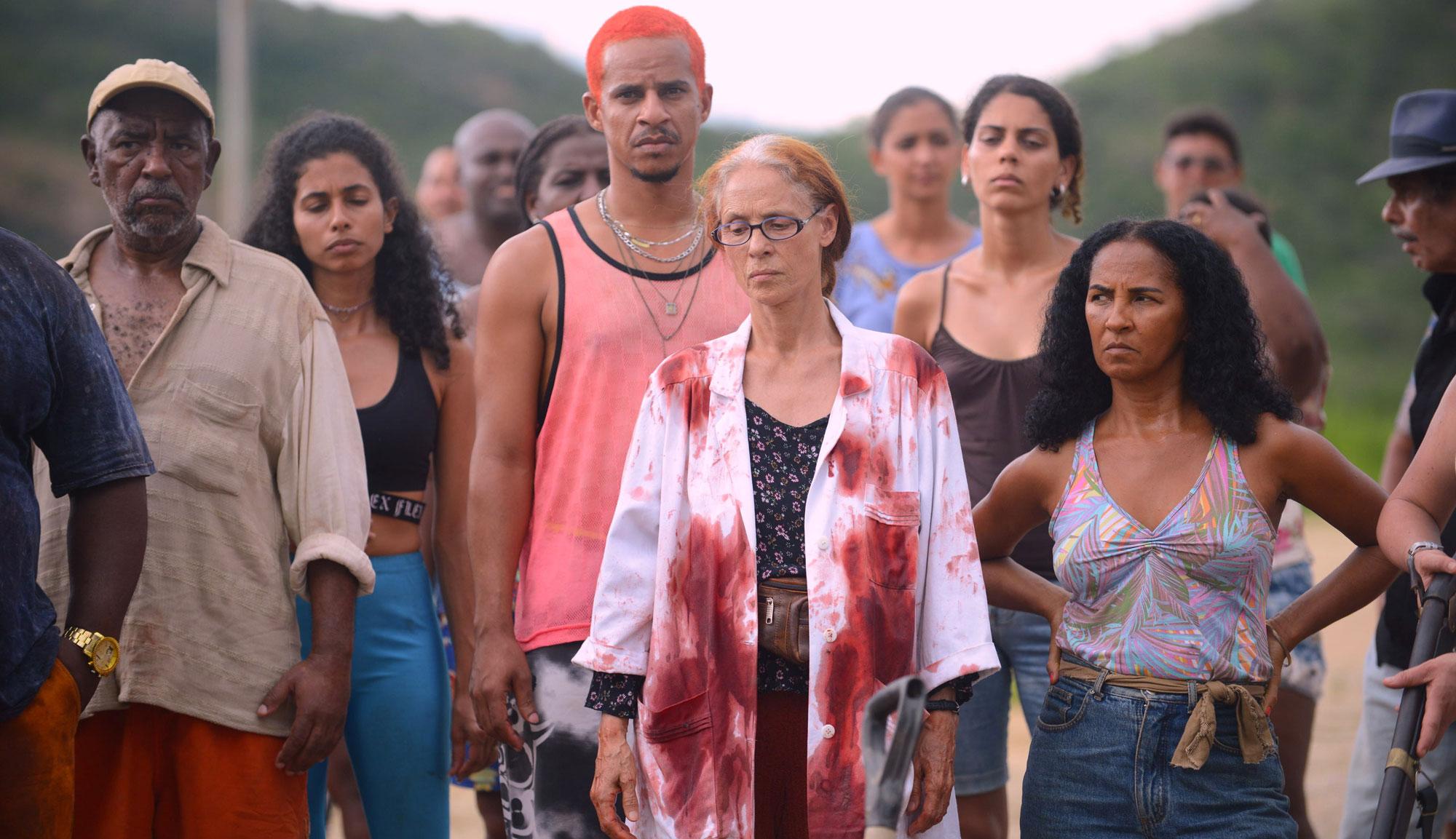 "Sônia Braga and Luciana Souza in ""Bacurau"""