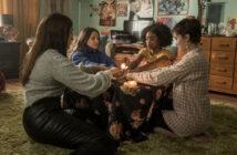 "Cailee Spaeny, Zoey Luna, Gideon Adlon and Lovie Simone in ""The Craft: Legacy"""