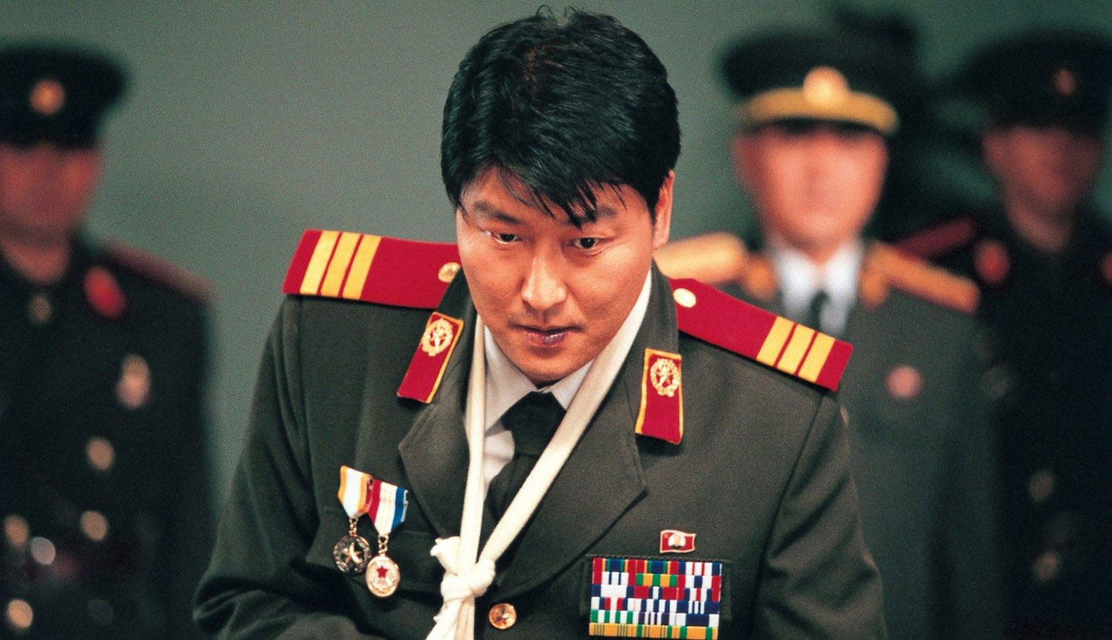 """Song Kang-Ho in """"Joint Security Area"""""""