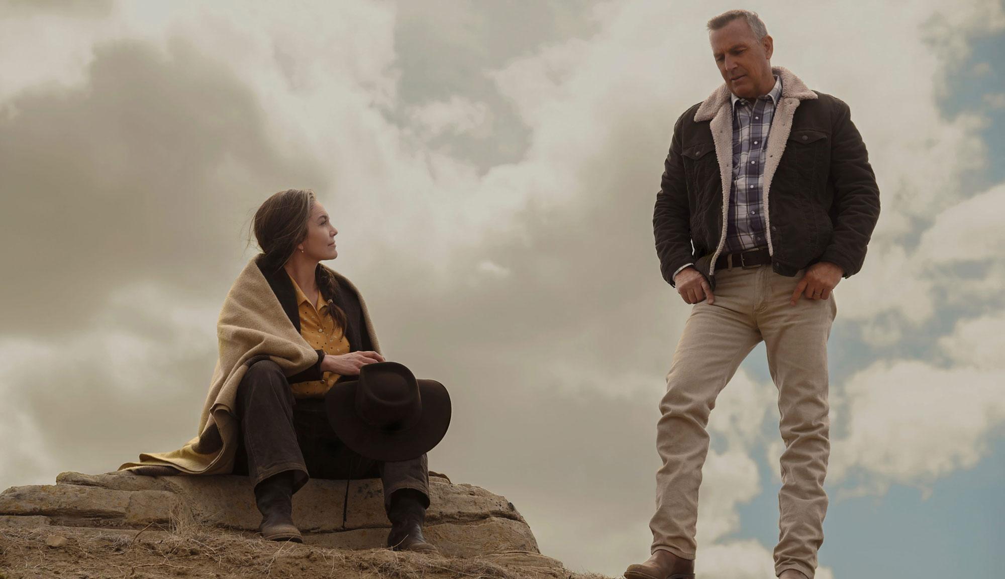 """Kevin Costner and Diane Lane in """"Let Him Go"""""""
