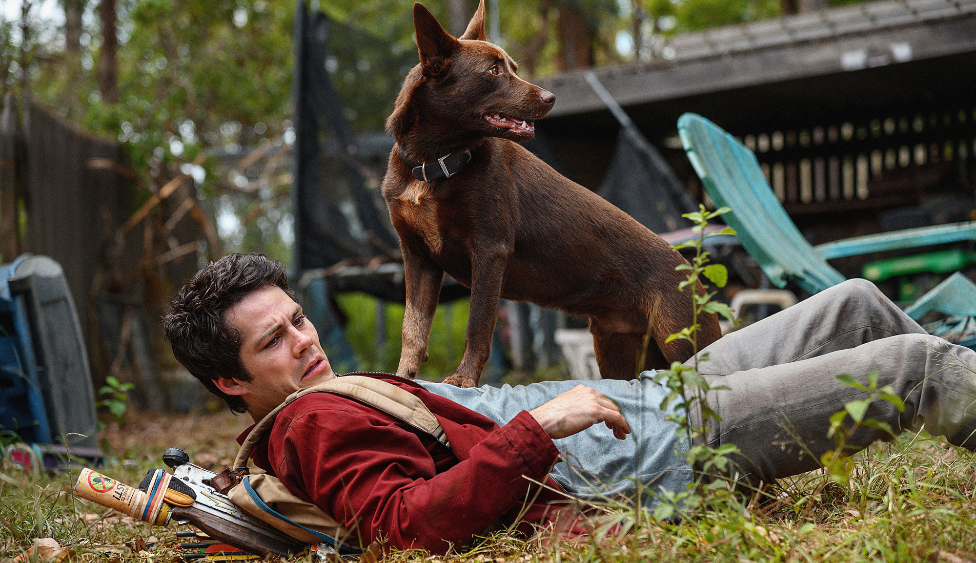 "Dylan O'Brien in ""Love and Monsters"""