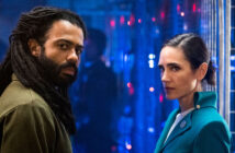 "Daveed Diggs and Jennifer Connelly in ""Snowpiercer"""
