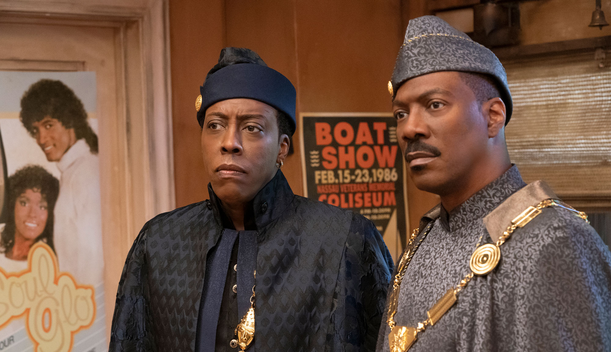 """Eddie Murphy and Arsenio Hall in """"Coming 2 America"""""""