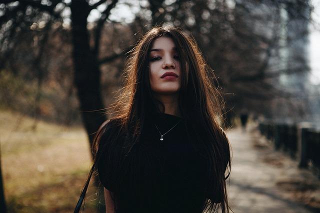 attractive Latina woman