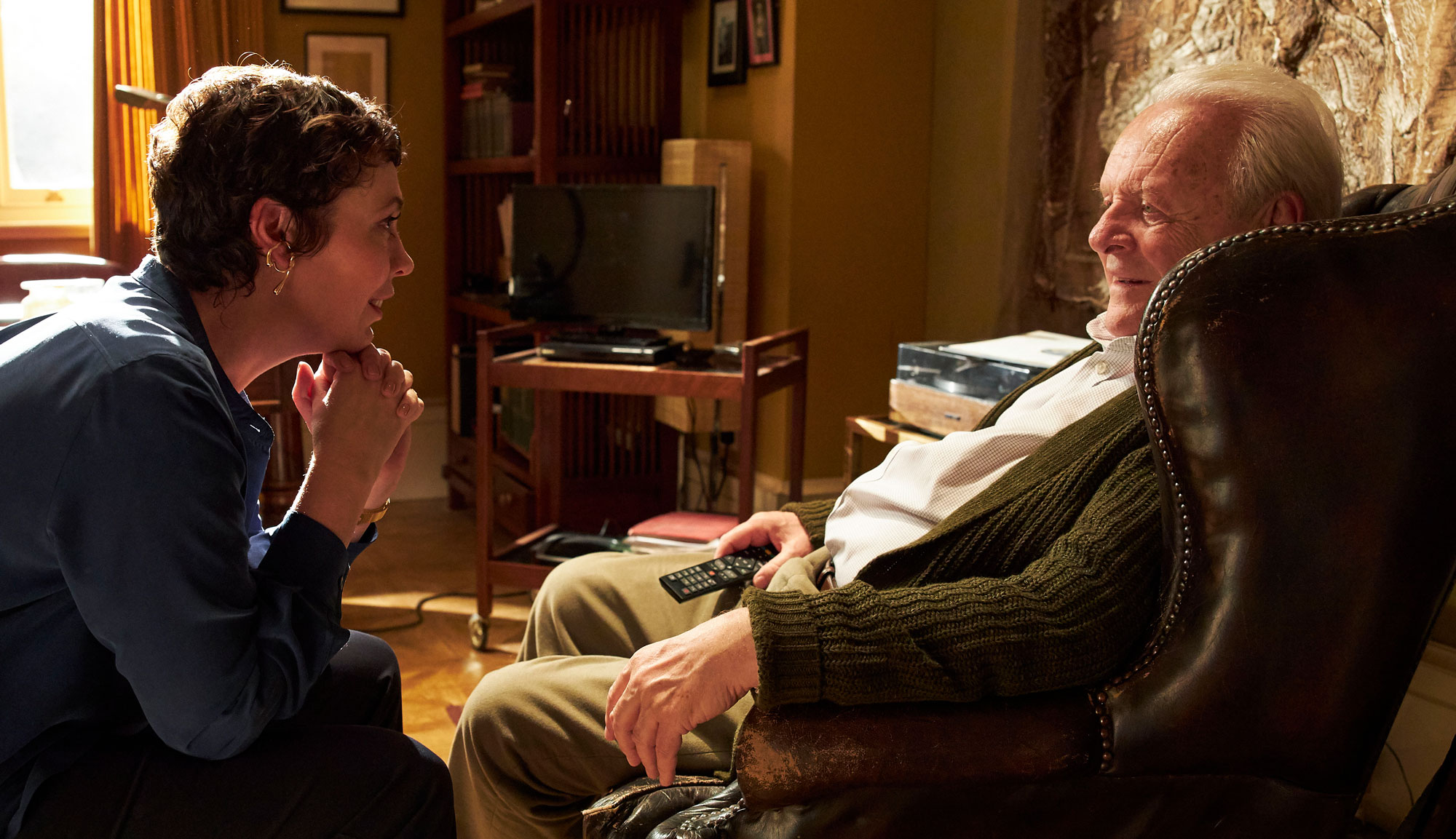 "Anthony Hopkins and Olivia Colman in ""The Father"""