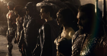 "Ben Affleck, Henry Cavill and Gal Gadot in "" Zack Snyder's Justice League"""