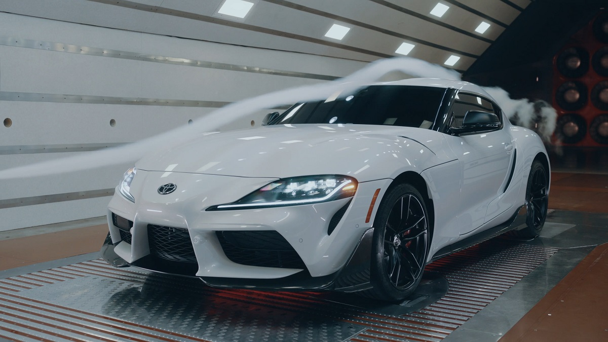 Toyota Special Edition GR Supra A91-CF front corner view