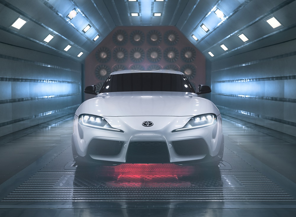 Toyota Special Edition GR Supra A91-CF front grille view