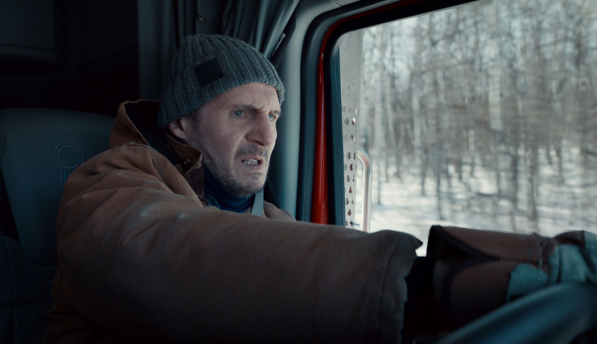 """Liam Neeson in """"The Ice Road"""""""