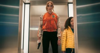 "Karen Gillan in ""Gunpowder Milkshake"""