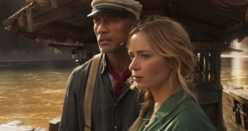"""Dwayne Johnson and Emily Blunt in """"Jungle Cruise"""""""