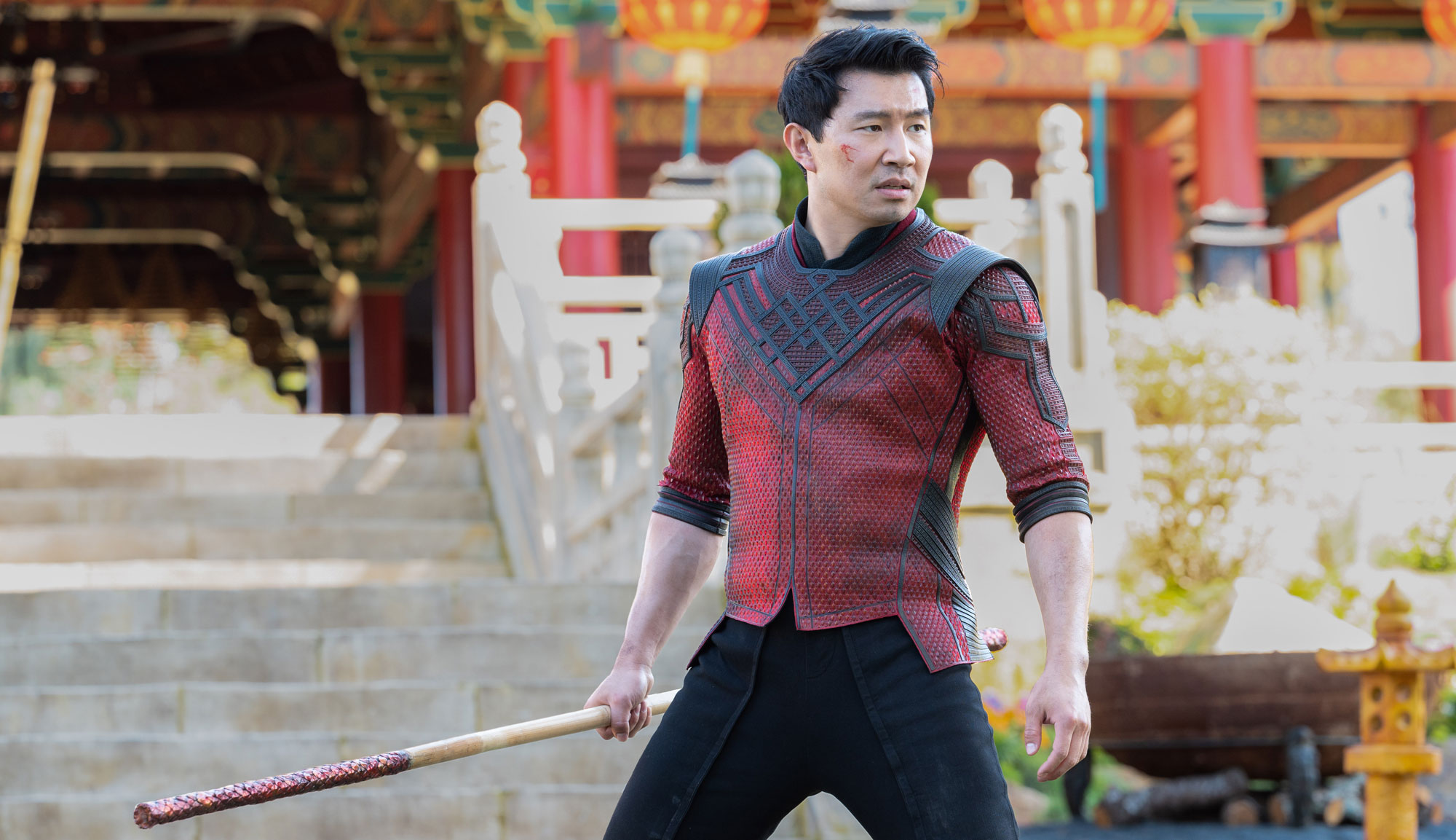 """Simu Liu in """"Shang-Chi and the Legend of the Ten Rings"""""""