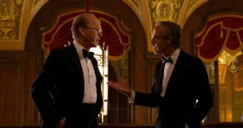 """Michael Keaton and Stanley Tucci in """"Worth"""""""