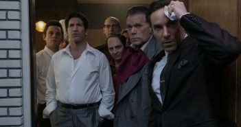 "Alessandro Nivola, Ray Liotta, Jon Bernthal and Corey Stoll in ""The Many Saints of Newark"""