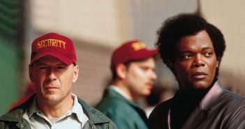 """Bruce Willis and Samuel L. Jackson in """"Unbreakable"""""""