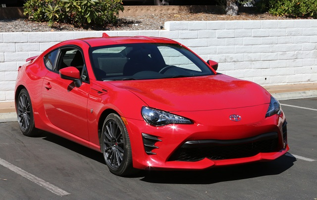 red Toyota
