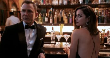 """Daniel Craig and Ana de Armas in """"No Time to Die"""""""